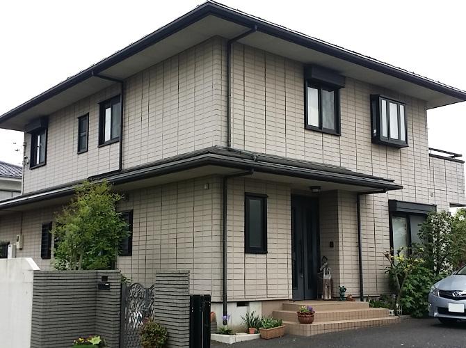 埼玉県入間市の外壁塗装・屋根塗装工事の施工前