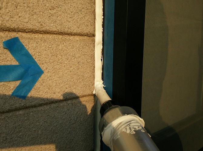 下地を整えてから塗装の工程に入ります。