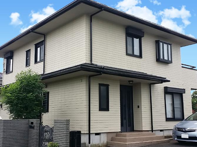 埼玉県入間市の外壁塗装・屋根塗装工事の施工後