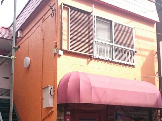 東京都杉並区アパートの外壁塗装・屋根塗装工事の施工前