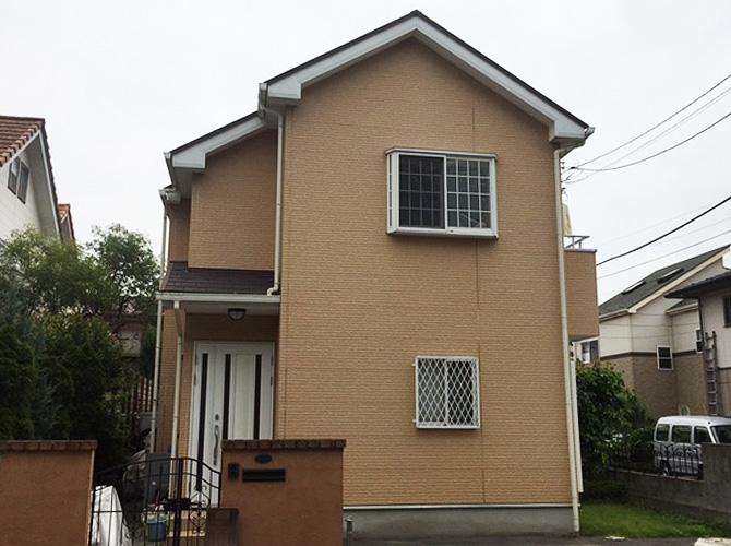 東京都日野市の外壁塗装・屋根塗装工事の施工前