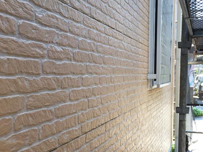 外壁の高圧洗浄完了後のようすです。