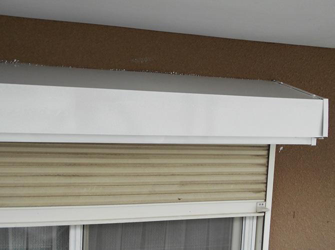 サビ止め塗装の施工後のようすです。