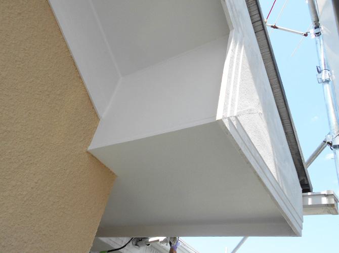 軒天など付帯部の塗装もおまかせ下さい。