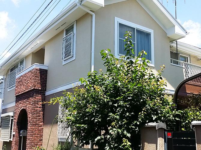 東京都新宿区の外壁塗装・屋根塗装工事の施工後