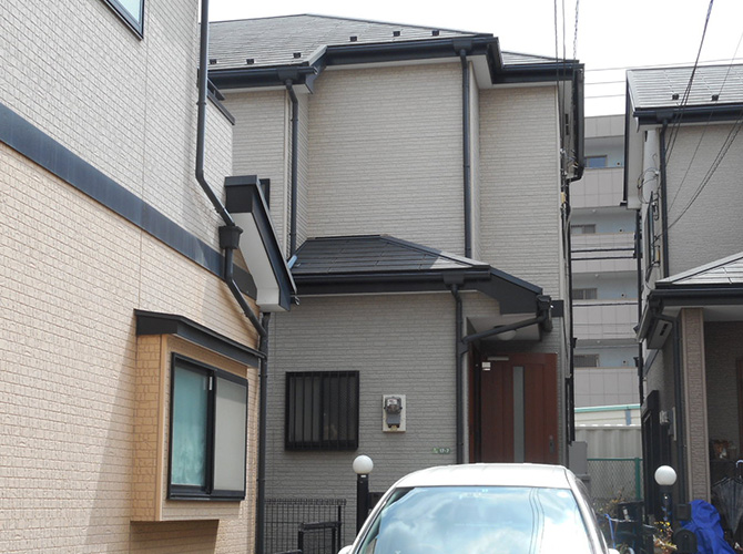 東京都足立区扇の外壁塗装・屋根塗装工事の施工前