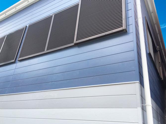 東京都足立区小台の外壁塗装・屋根修理工事の施工後