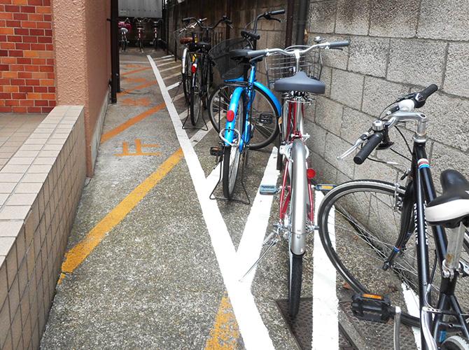 駐車場や駐輪場の工事もおまかせ下さい。