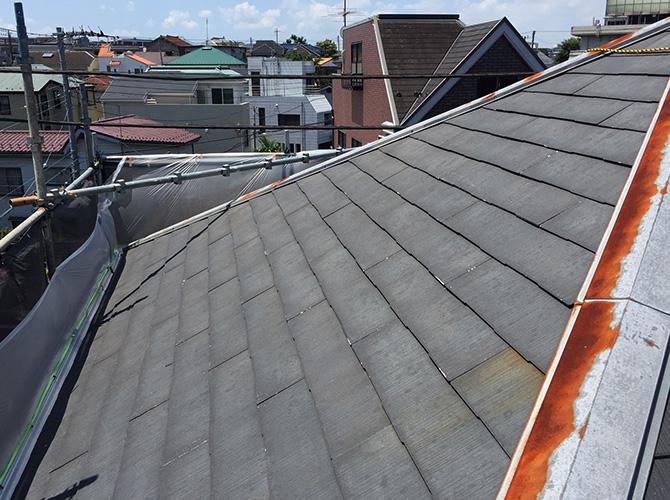神奈川県横浜市西区の外壁塗装・屋根塗装工事の施工前