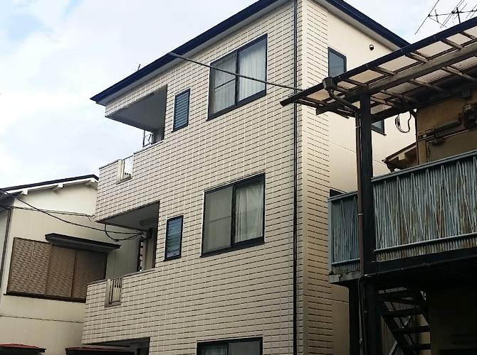 東京都足立区保木間の外壁塗装・屋根塗装工事の施工後
