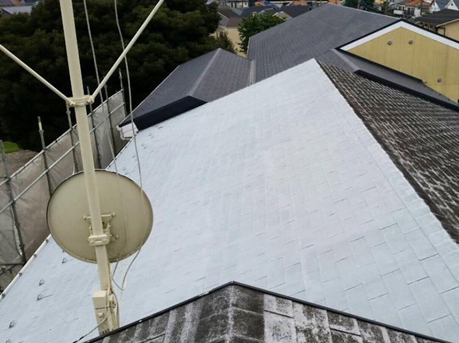 幼稚園の屋根塗装はおまかせ下さい。