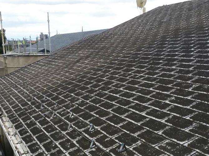 東京都三鷹市幼稚園の外壁塗装・屋根塗装工事の施工前