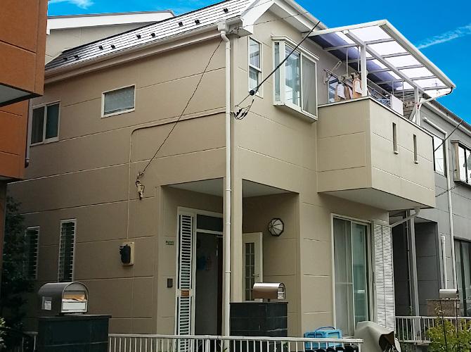 東京都足立区江北の外壁塗装・屋根塗装工事の施工後