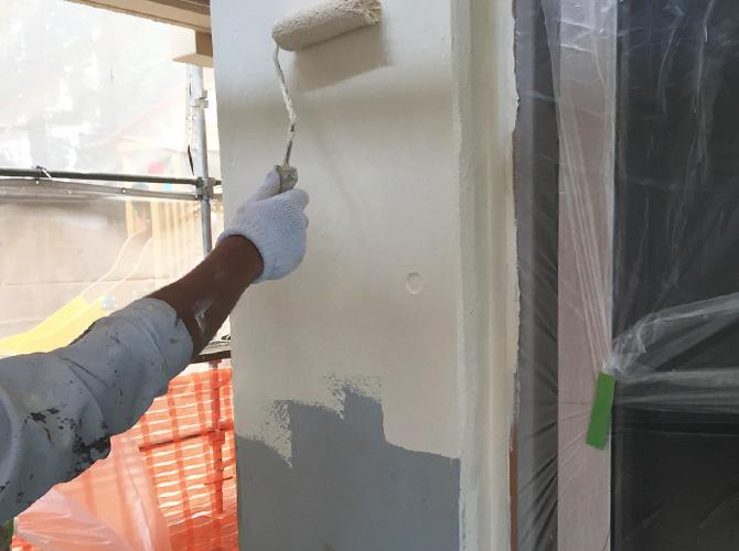 外壁以外にも各所の塗装が可能です。