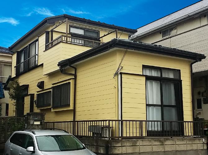 千葉県浦安市の外壁塗装・屋根葺き替え工事の施工後