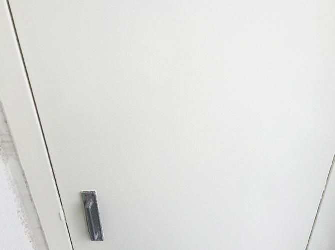 千葉県船橋市マンションの鉄部塗装工事の施工後