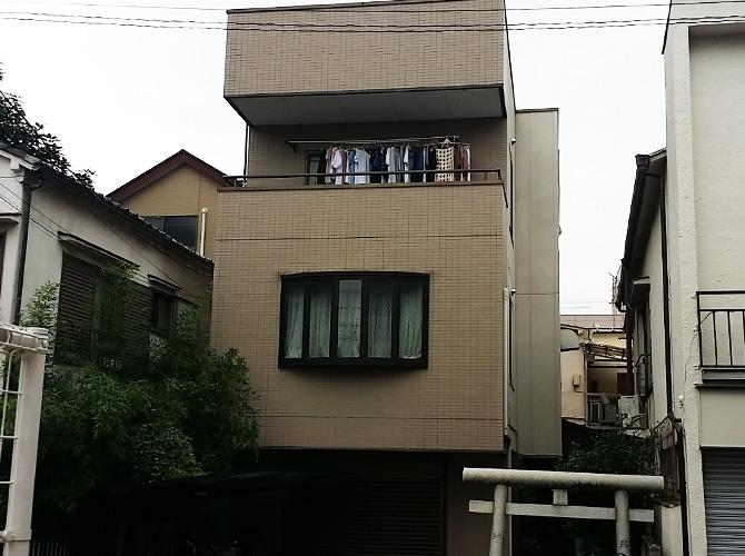 東京都足立区千住桜木の外壁塗装・防水工事の施工前