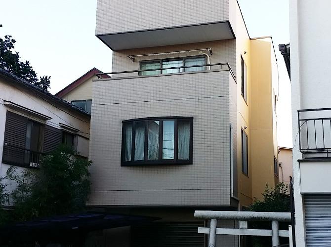 東京都足立区千住桜木の外壁塗装・防水工事の施工後