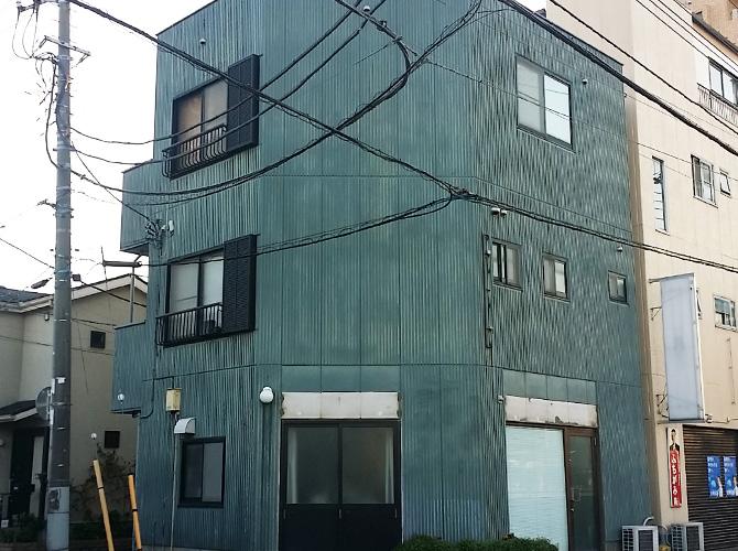 東京都足立区栗原の外壁塗装・屋根塗装工事の施工前