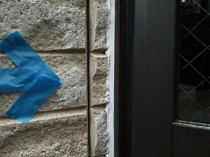 窓廻りも雨水の侵入をしっかりと防止します。