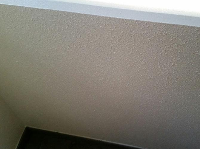 外壁塗り替え工事の完了後のようすです。