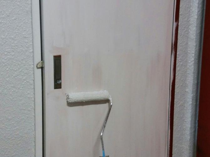 PS扉の中塗り