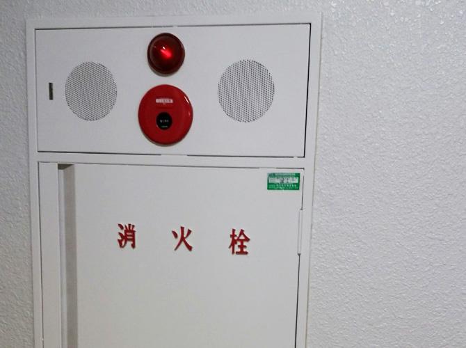 横浜市マンションの消火栓サビ止め塗装工事の施工後