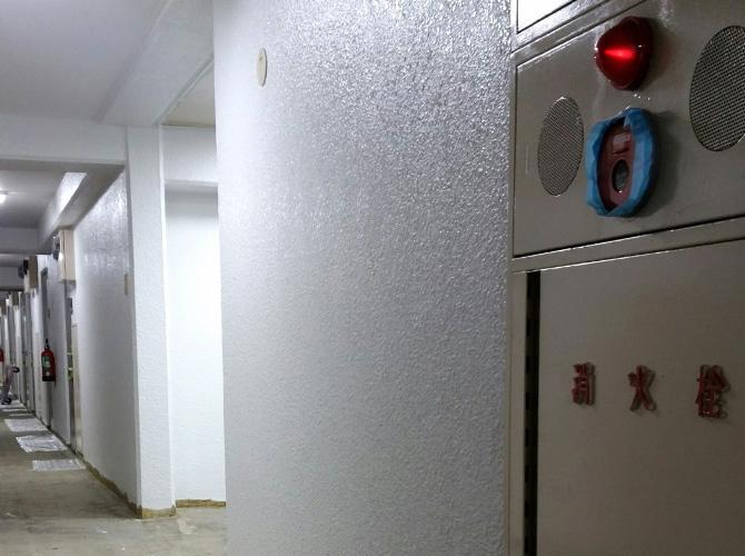 横浜市マンションの共用廊下塗装工事の施工後