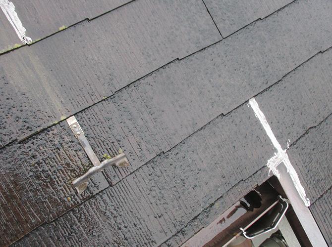 東京都荒川区の屋根塗装・外壁塗装工事の施工前