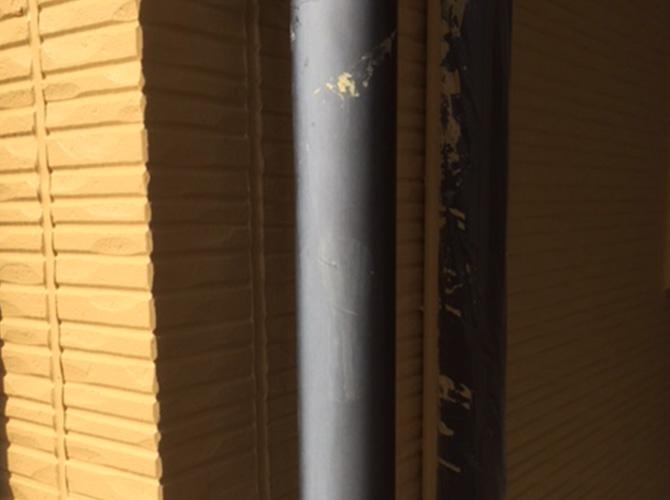 雨樋塗装の施工前