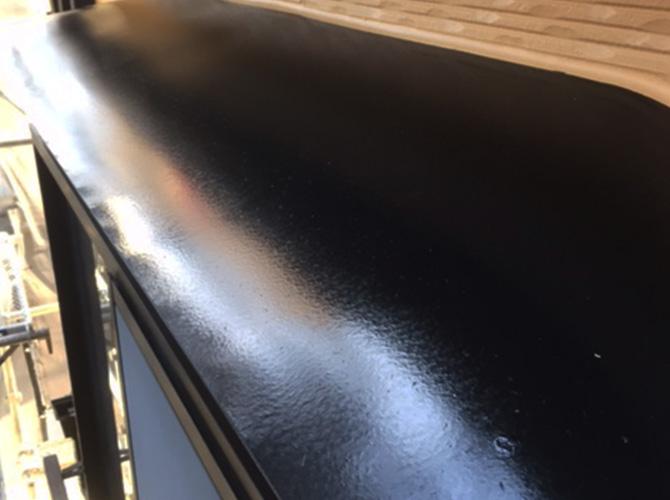 庇塗装の完了後