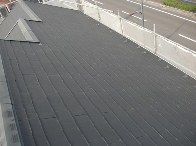 反対側の屋根の施工前です。