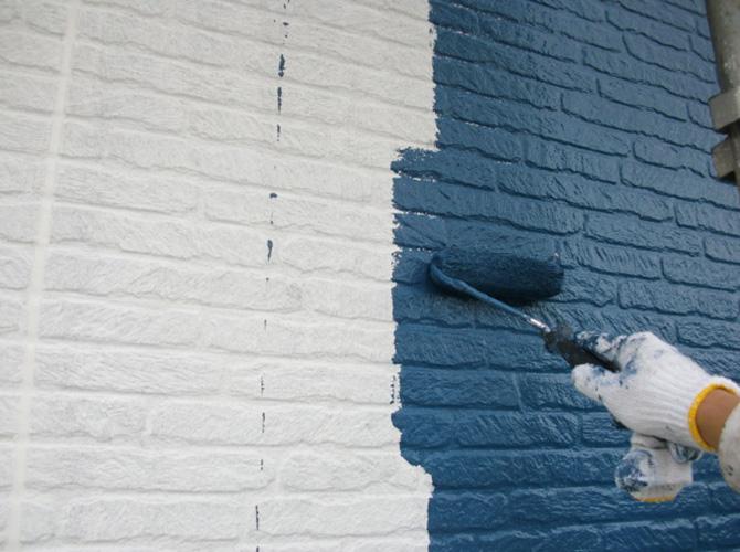 外壁塗料はサーモアイSiでの施工です。