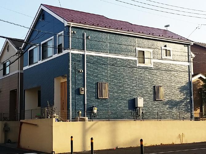 外壁塗装施工後画像