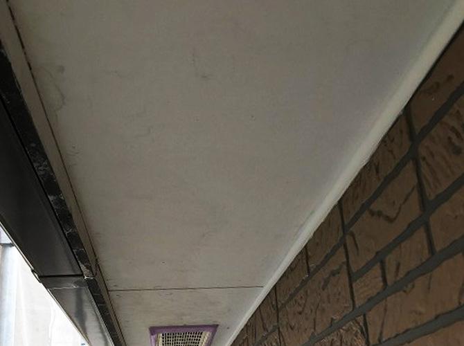 軒天井の塗装前