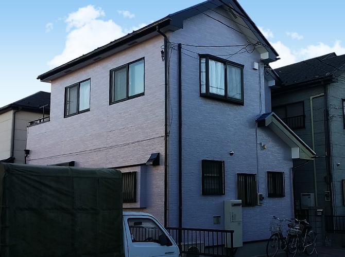 埼玉県草加市の外壁塗装・屋根塗装工事の施工後