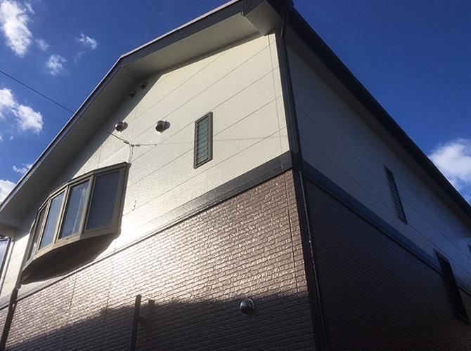 東京都足立区北加平の外壁塗装・屋根塗装工事の施工後