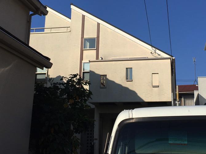東京都杉並区の外壁塗装・屋根塗装工事の施工前