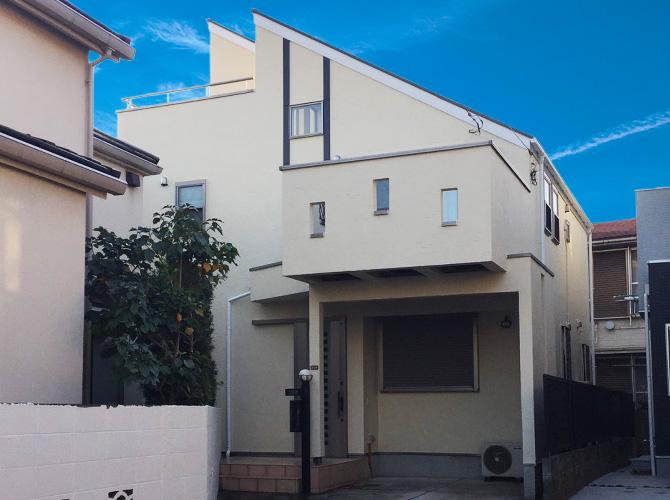 東京都杉並区の外壁塗装・屋根塗装工事の施工後