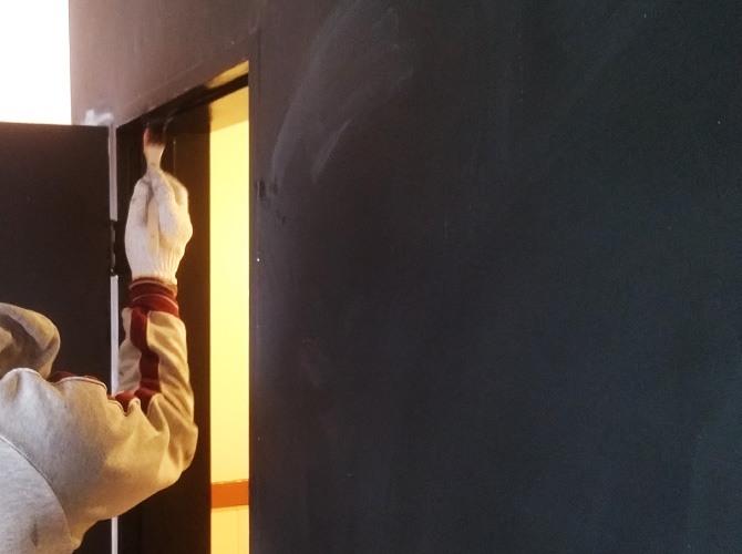 新宿区マンションの内装塗装工事の施工前