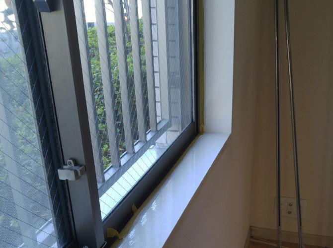 東京都世田谷区マンションの木部塗装工事の施工後