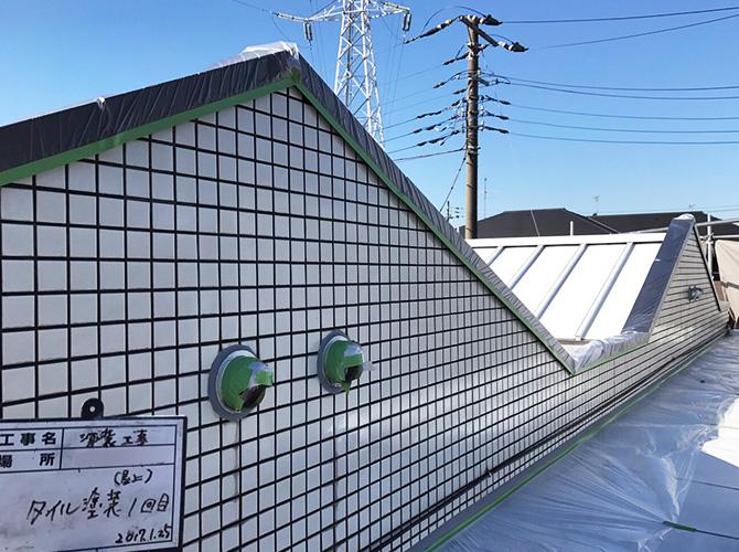 屋上の外壁塗装
