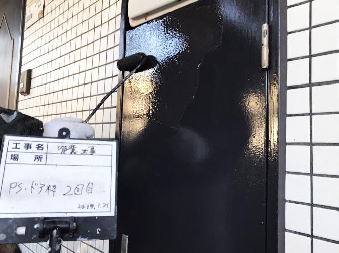 PSドアの塗装