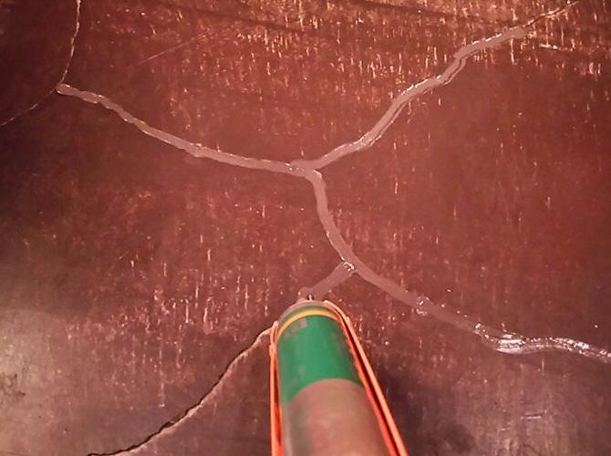 シーリング材の充填