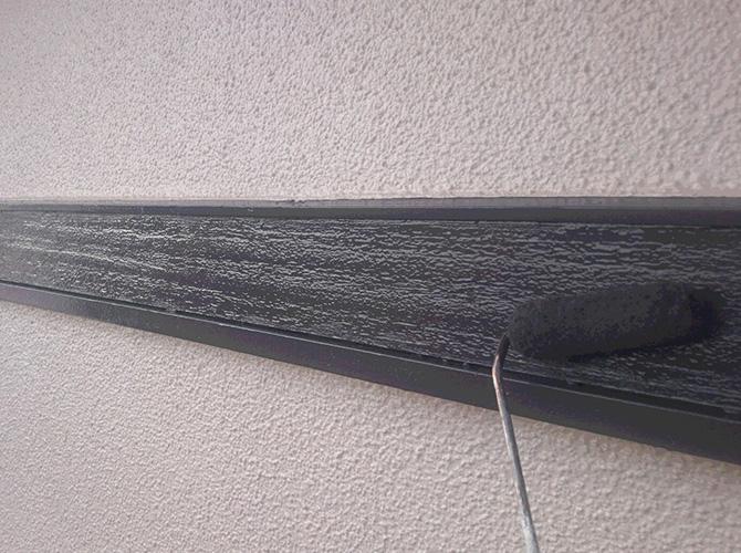 帯板の塗装