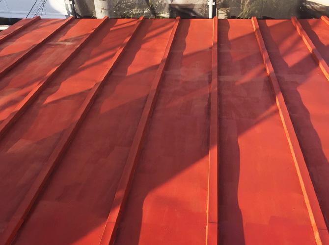 屋根塗装の錆止め