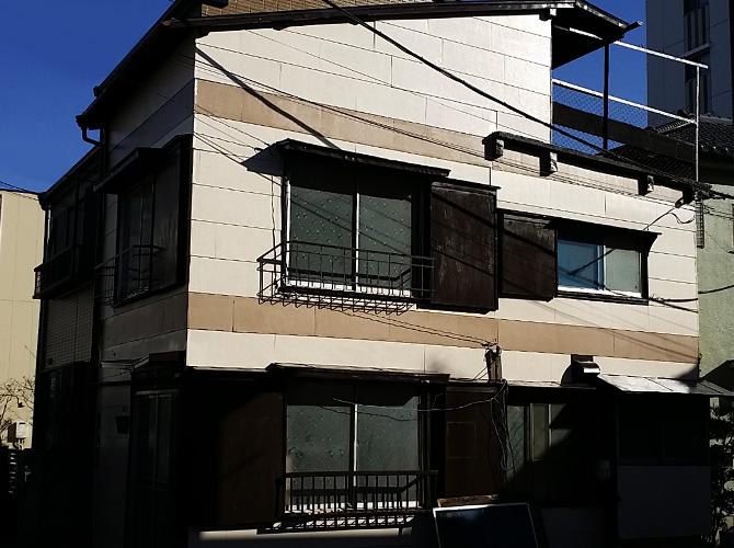 東京都足立区千住仲町の外壁塗装・屋根塗装工事の施工後