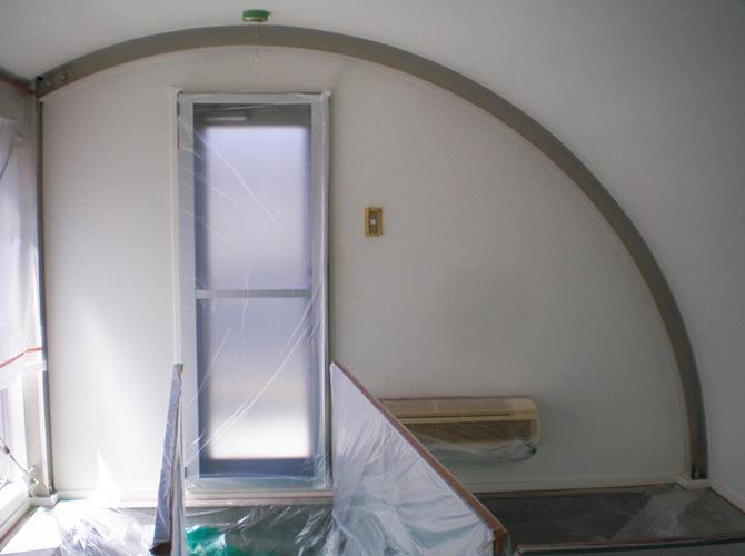 東京都目黒区アパートの内装塗装施工前画像