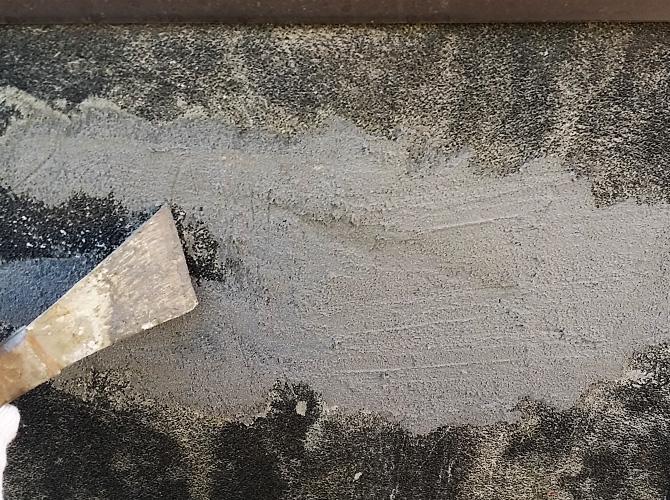 ブロック塀のケレン