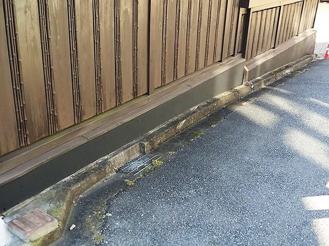 東京都世田谷区外構ブロック塀塗装工事の施工後